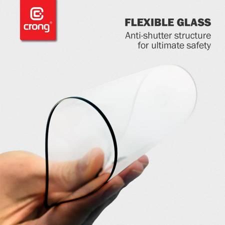 Crong 7D Nano Flexible Glass - Szkło hybrydowe 9H na cały ekran Samsung Galaxy M31