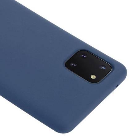 Crong Color Cover - Etui Samsung Galaxy Note 10 Lite (niebieski)