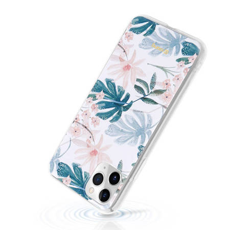 Crong Flower Case – Etui iPhone 11 Pro (wzór 01)