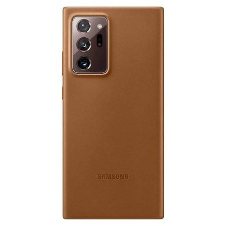 Etui Samsung EF-VN985LA Note 20 Ultra N985 brązowy/brown Leather Cover