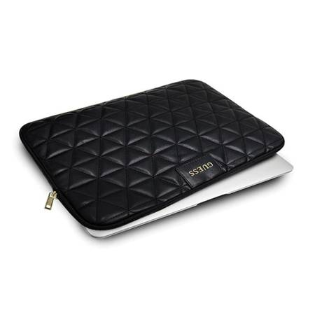 Guess Quilted Computer Sleeve - Etui na notebooka 13 (czarny)