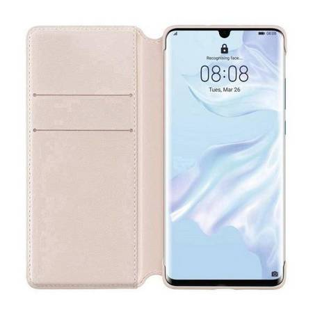 Huawei Wallet Cover P30 Pro różowy /pink 51992868