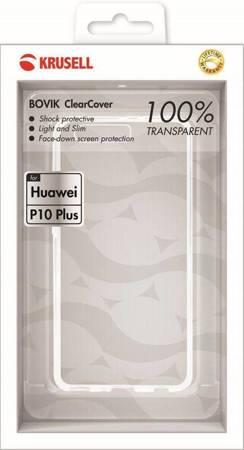 Krusell Bovik Cover - Etui Huawei P10 Plus (przezroczysty)