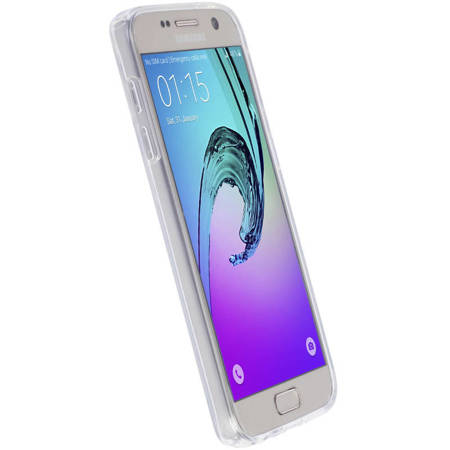 Krusell Bovik Cover - Etui Samsung Galaxy A3 (2017) (przezroczysty)
