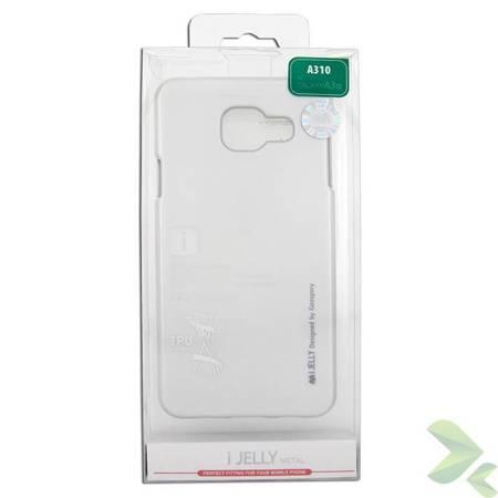 Mercury I-Jelly - Etui Samsung Galaxy A3 (2016) (srebrny)