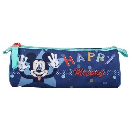 Mickey Mouse - Piórnik niebieski (7 x 20 x7 cm)