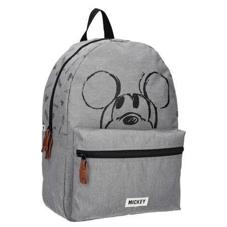 Mickey Mouse - Plecak szary (39 x 29 x 12 cm)