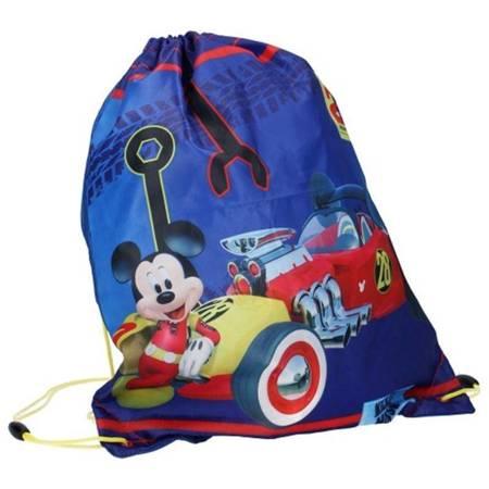 Mickey Mouse - Worek na buty, gimnastykę (niebieski)