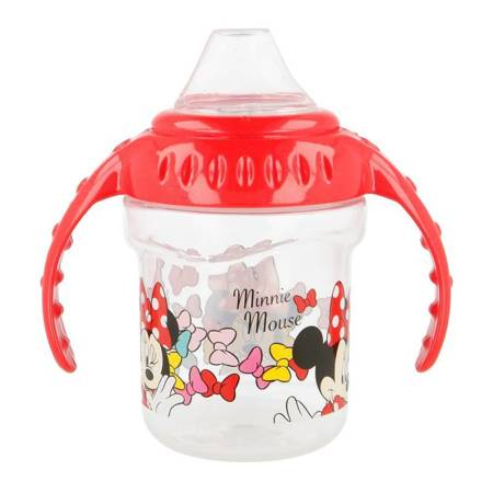 Minnie Mouse - Butelka z silikonowym ustnikiem 250 ml