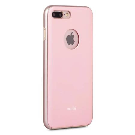 Moshi iGlaze - Etui iPhone 8 Plus / 7 Plus (Blush Pink)