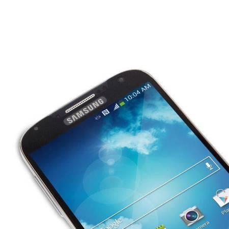 Moshi iVisor XT - Przezroczysta folia ochronna Full Face Samsung Galaxy S4 (czarny)