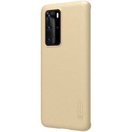 Nillkin Super Frosted Shield - Etui Huawei P40 Pro (Golden)