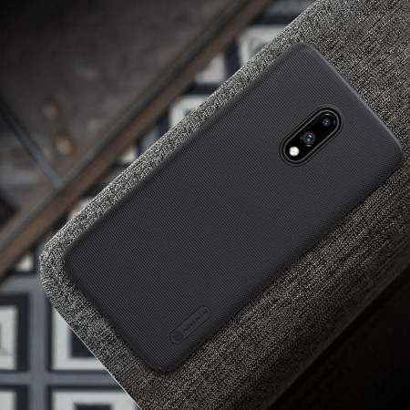 Nillkin Super Frosted Shield - Etui OnePlus 7 (Black)