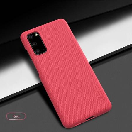 Nillkin Super Frosted Shield - Etui Samsung Galaxy S20 (Bright Red)