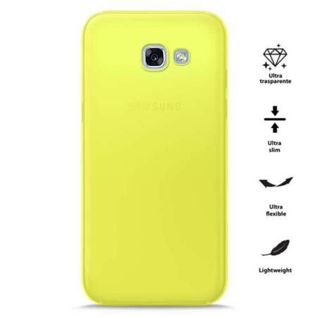 PURO 0.3 Nude - Etui Samsung Galaxy A3 (2017) (Fluo Yellow)