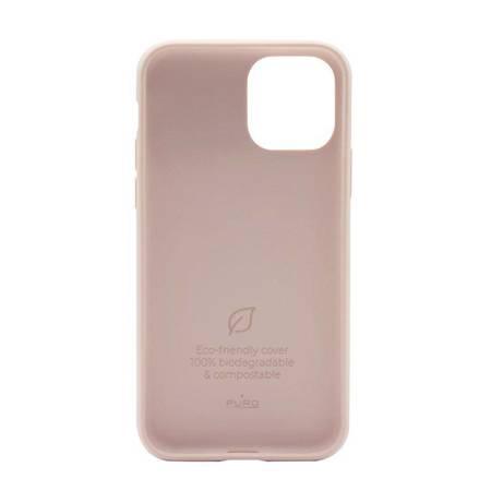 PURO Green Compostable Eco-friendly Cover - Ekologiczne etui iPhone 12 Mini (piaskowy róż)