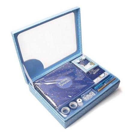 Pakiet Komunijny prezentowy niebieski