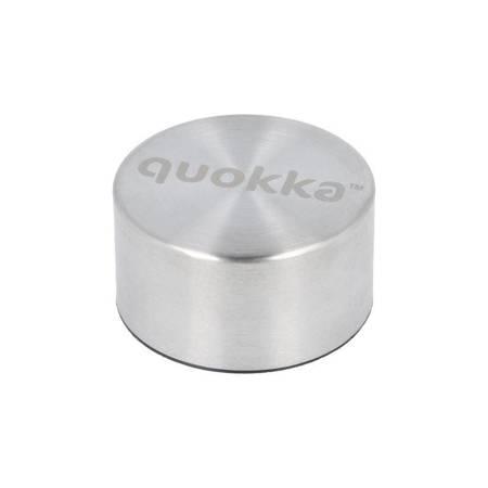 Quokka Solid - Butelka termiczna ze stali nierdzewnej 630 ml (Apricot)