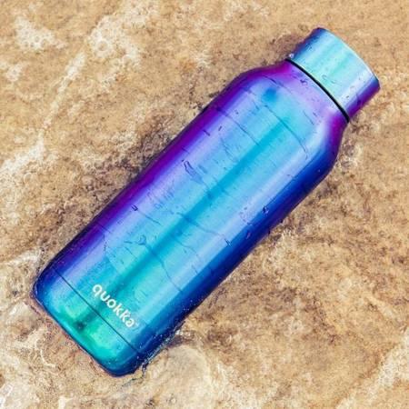 Quokka Solid - Butelka termiczna ze stali nierdzewnej 630 ml (Neo Chrome)