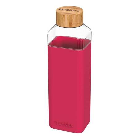 Quokka Storm -  Butelka na wodę ze szkła 700 ml (Maroon)