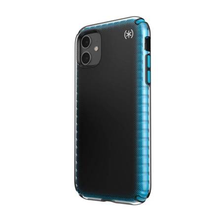 Speck Presidio2 Armor Cloud - Etui iPhone 11 z powłoką MICROBAN (Black Fade/Black/Blue)
