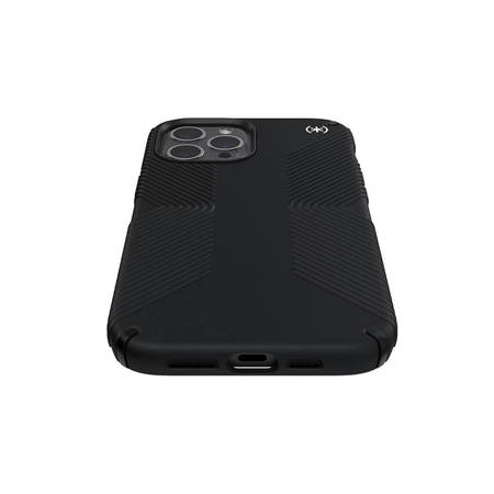 Speck Presidio2 Grip - Etui iPhone 12 Pro Max z powłoką MICROBAN (Black)