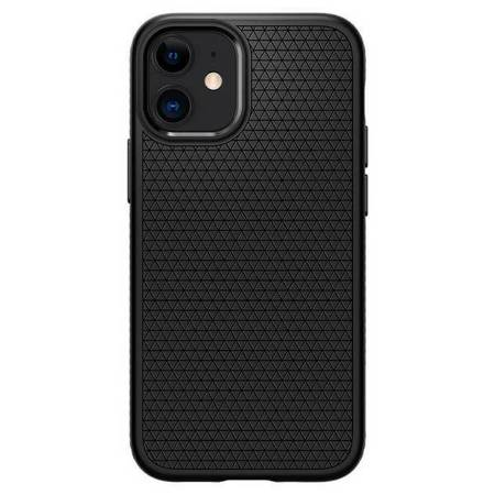 "Spigen Liquid Air iPhone 12 mini 5,4"" czarny mat/black matte ACS01744"