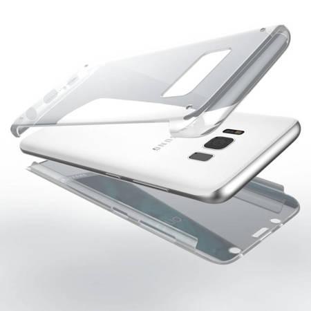 X-Doria Defense 360 - Etui Samsung Galaxy S8 ze szkłem 9H na ekran (przezroczysty)